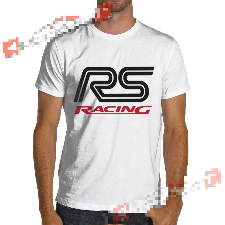 Ford Focus Fiesta RS ST Rally Racing T-Shirt Sierra Escort WRC Cosworth Short Sleeves Cotton T-Shirt Fashion Retro top tee
