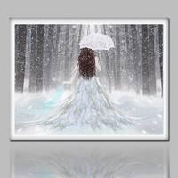 Kar Prenses 5D Sopa matkap Tam matkap Yeni oturma odası restoran