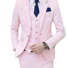 Mens Slim Fit 3 unidades traje de boda de pico solapa Formal Casual de  negocios de novios noche chaqueta traje de cena solo Brea. f244eaea626