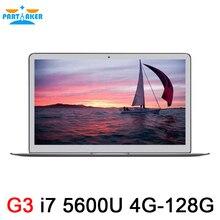 Тетрадь 13.3 «Full HD Intel i7 5600U двухъядерный ноутбук 4 ГБ ОЗУ 128 ГБ SSD Windows7/ 8 Bluetooth Веб-камера 7000 мАч Батарея