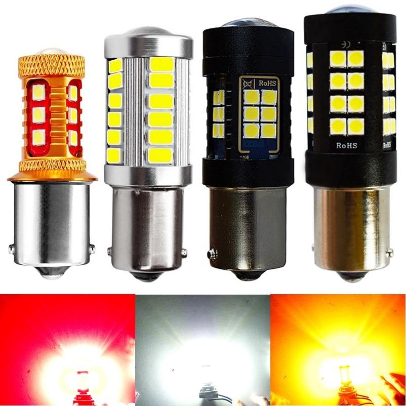 1156 P21W 7506 BA15S Super Bright 1800Lm 3030 LED Auto Brake Light Rear Fog Lamp Car DRL Driving light Reverse Bulb Turn Signals