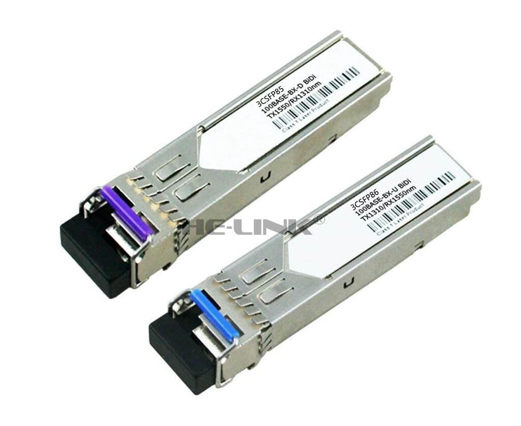 LODFIBER 3CSFP85/3CSFP86 3Com Compatible 100M 1310/1550nm BiDi 10km TransceiverLODFIBER 3CSFP85/3CSFP86 3Com Compatible 100M 1310/1550nm BiDi 10km Transceiver