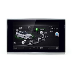 MERRWAY 2012-2015 8 ''für Audi A6/A6L/A7/S6/S7 Multimedia Navigation Dashboard DVD Player (nur fit MMI)