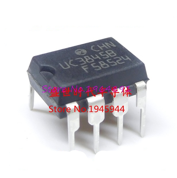 10pcs/lot UC3845BN UC3845B UC3845 DIP-8 In Stock