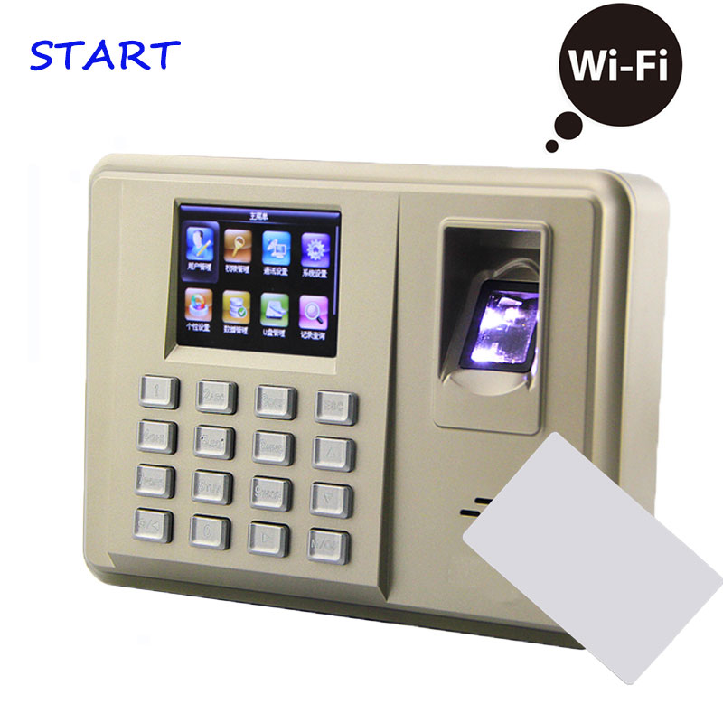 ZK TX638 Biometric Fingerprint Time Attendance With 13.56Mhz Card Reader Door Access Control System With WIFI