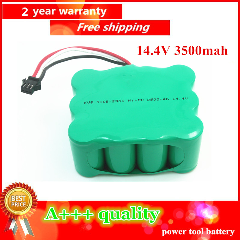 14 4V 3500mAh Ni MH Vacuum Cleaner battery for KV8 Cleanna XR210 XR510 series XR210A XR210B