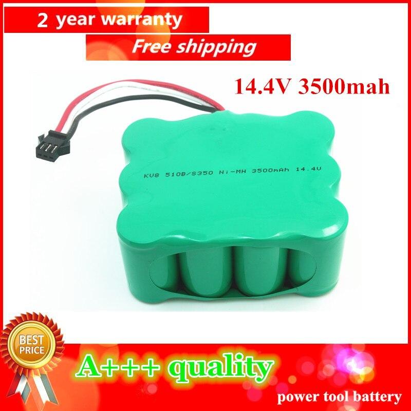 14 4V 3500mAh Ni MH Vacuum Cleaner battery for KV8 Cleanna XR210 XR510 series XR210A XR210B