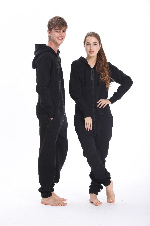Mode nordique une pièce combinaison à capuche polaire unisexe femmes hommes barboteuse adulte combishort