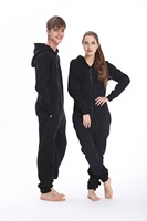 Nordic Way Fashion One Piece Jumpsuit Hoodies Fleece Unisex Women Men Romper Adult Playsuit