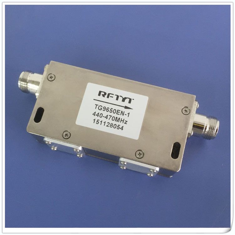440-470MHz dual junction isolator for UHF VHF radio and TV FM digital TV frequency440-470MHz dual junction isolator for UHF VHF radio and TV FM digital TV frequency