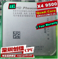 Free Shipping K10 AMD Phenom X4 9500 CPU 2.2GHz AM2+ 2M L3 Quad-Core Processor scattered piece 940pin Full function test