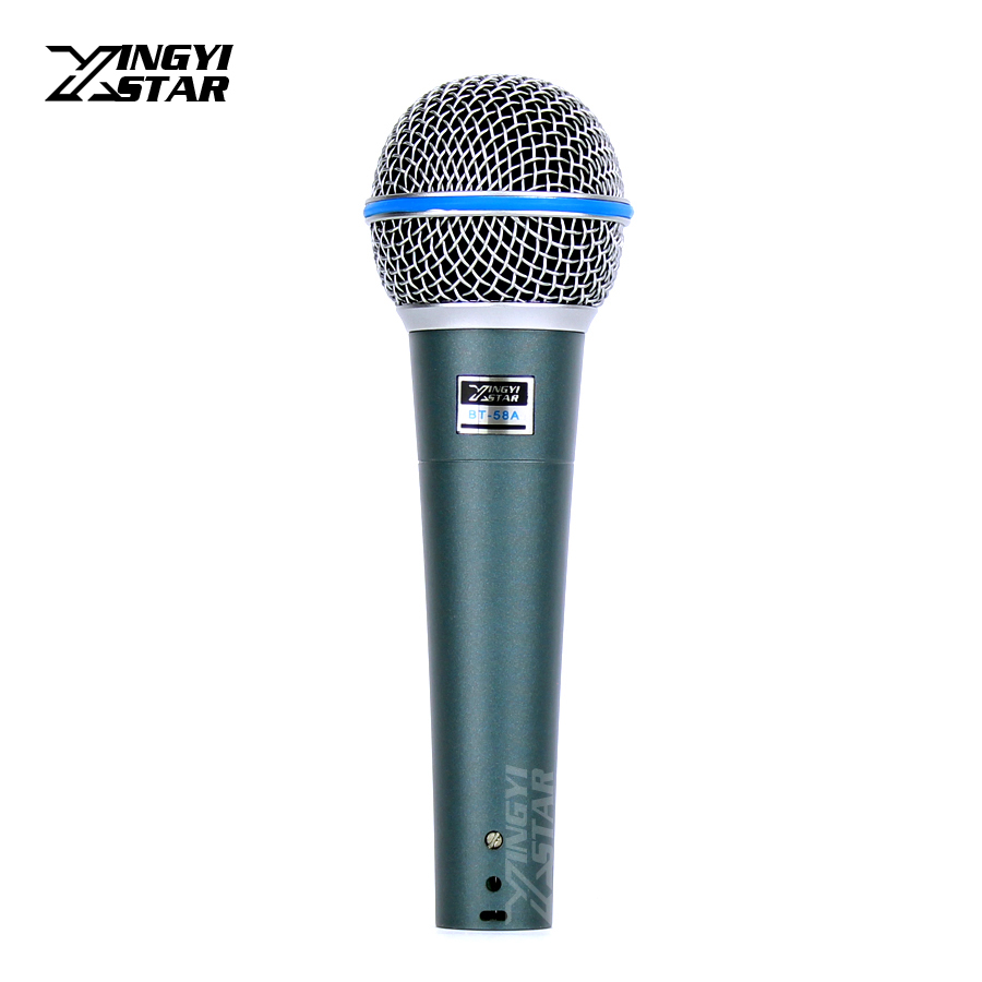 BT58A Professional Handheld Dynamic Microphone For BETA 58A BETA58A Saxophone Lecture Church Teaching Karaoke System Sing Gaming image