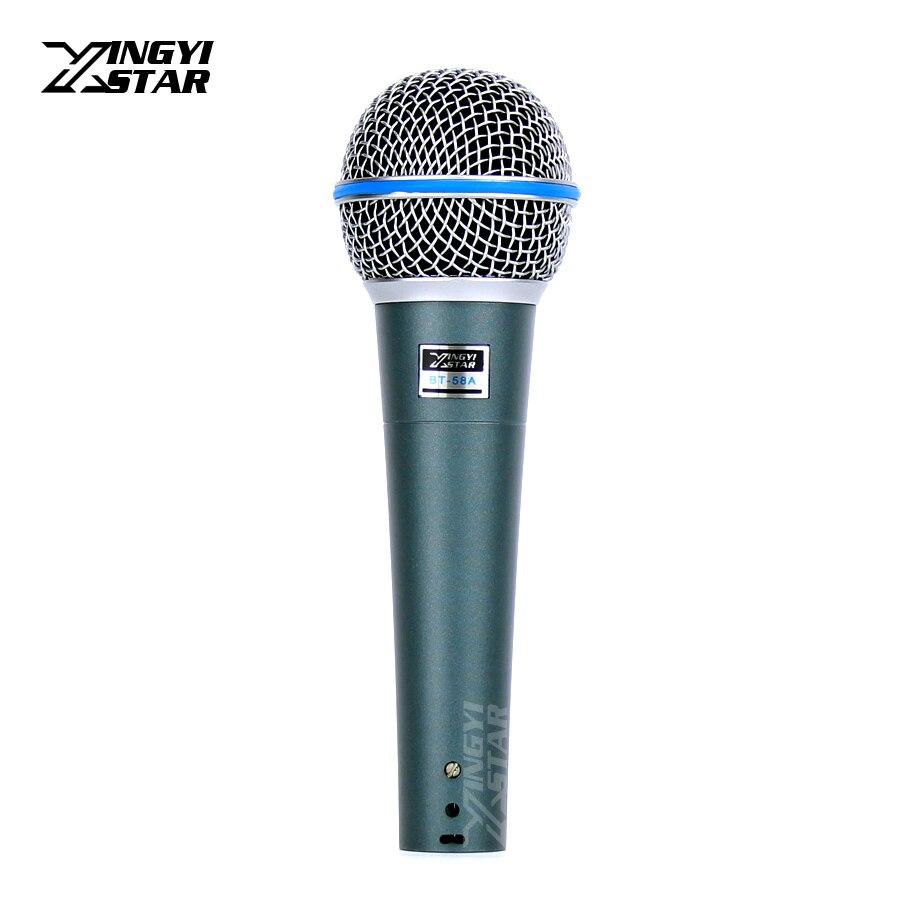 BT58A Professionale Palmare Microfono Dinamico Per BETA 58A BETA58A Sassofono Lecture Chiesa Insegnamento Sistema di Karaoke Cantare Gaming