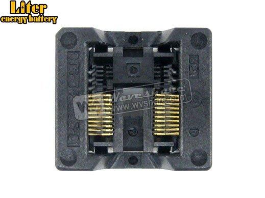 Enplas OTS-20 (34)-0.65-01 SSOP20 TSSOP20 IC Test rodage adaptateur de programmation de prise 0.65mm pas 5.3mm largeur