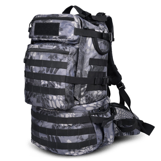 c90805f09349 Backpack large capacity 50 L students travel bag computer bag best casual backpack  water proof military