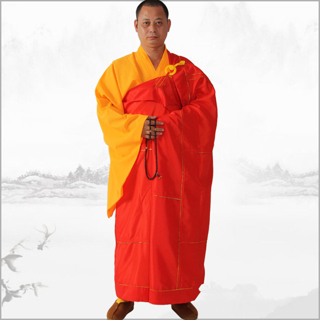 Buddhist Monk High Quality Satin Robes Shaolin Kongfu Uniform ...