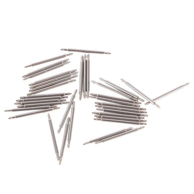 20pcs/pack Size 12-26mm Stainless Steel Watch Band Spring Bars Pins Repair Watch