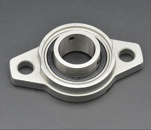 Pillow Block Bearing Falanged With Bolts Hole Zinc Alloy KFL08 KFL000 KFL001 <font><b>KFL002</b></font> KFL003 KFL004 KFL005 KFL006 KFL007 image
