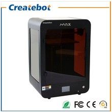 High Quality Createbot MAX 3D printer Full Metal structure 3D printer Kit with Dual Extruder  Touch Screen Free shipping