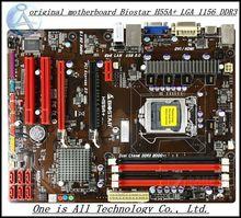 Freies verschiffen ursprüngliche motherboard für biostar h55a + lga 1156 ddr3 ram 16g boards h55 desktop-motherboard