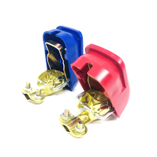 Universal 1 Pair 12V Quick Release Battery Terminals Clamps for Car Caravan Boat Motorcycle Car-styling Car Accessories