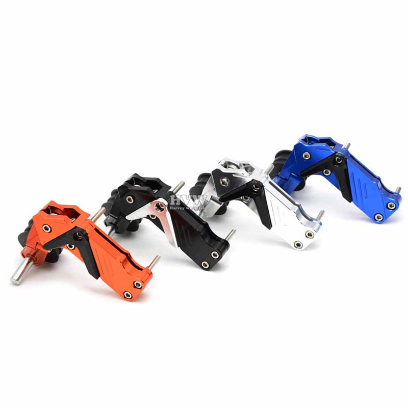 Universal CNC aluminum Adjustable Conversion Motorcycle Chain Tensioner motorcycle acces ...