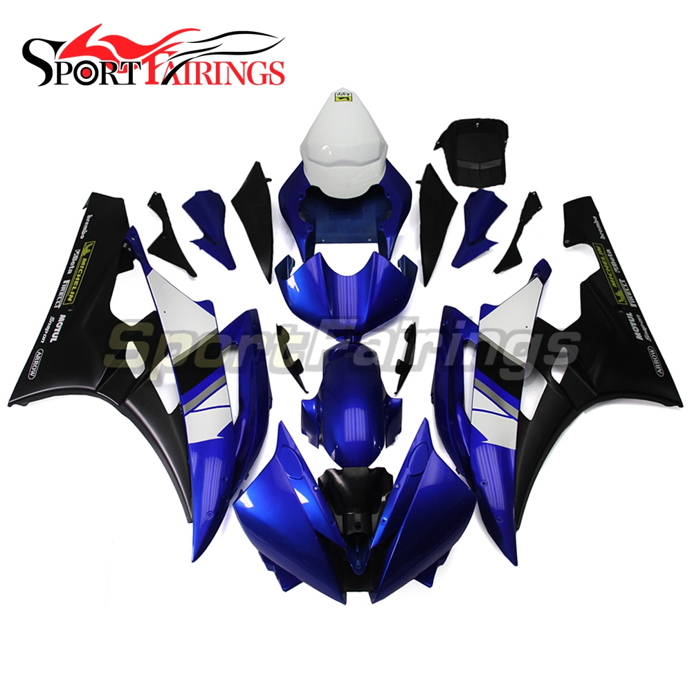 Complete Fairing Kit For Yamaha YZF R6 YZF600 R6 Year 2006 2007 06 07 ABS Motorcycle