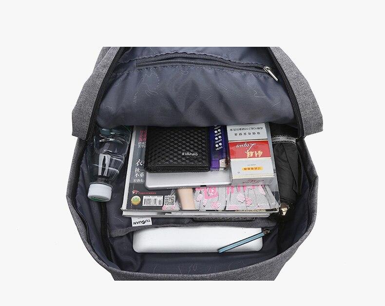 Купить с кэшбэком Tuguan Women Men Backpacks Student School Bag Teenager Girls Boy Canvas Travel Back Pack Rucksack Bagpack Female Backpack Bags