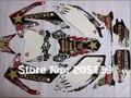 Гонки на мотоциклах 2010 2011 2012 2013 3 м графика отличительные знаки наклейки для honda самокат стикеры скутер наклейки мото грязь яма CRF CRF250R 250 велосипеды