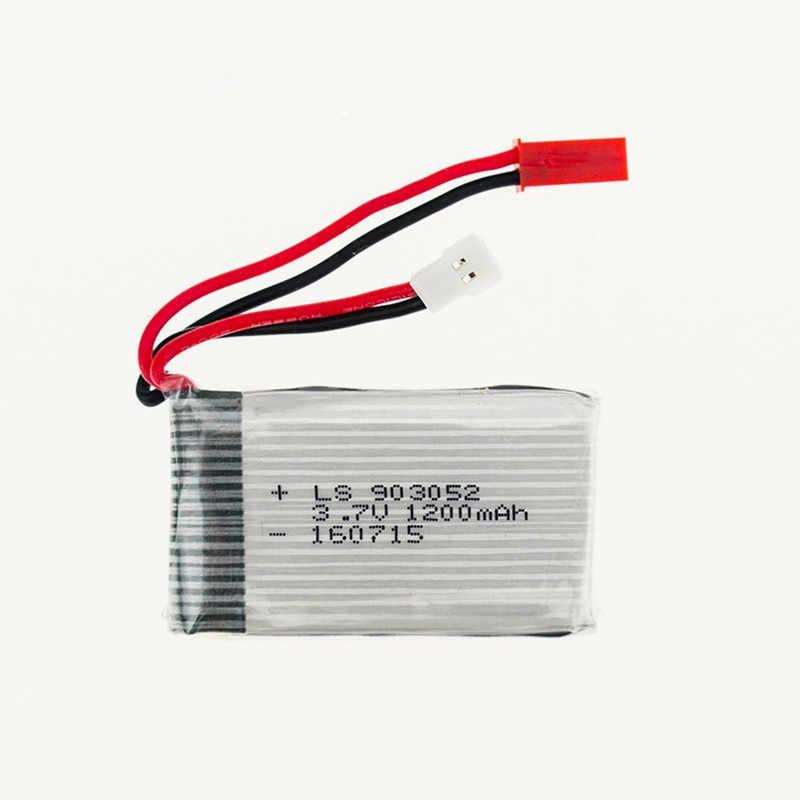 5 pièces 3.7 V 1200 mAh lipo batterie 25C pour rc Syma X5SW X5 X5SC X5S X5SC-1 M18 H5P RC quadrirotor Pièces 1200 mAh lipo batterie 3.7 V 1 S