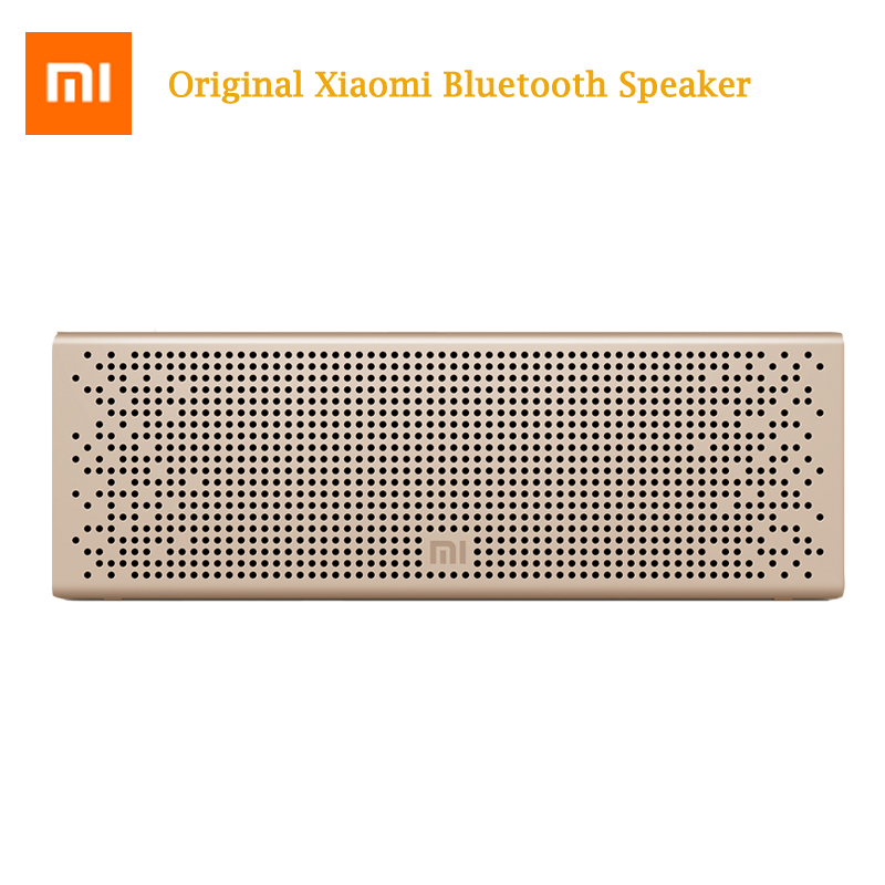 Original Xiaomi Bluetooth 4.0 Speaker Wireless Portable Stereo Mini SoundBox Square Box loudspeaker for Smartphone Computer колонка xiaomi mini square box 2 blue