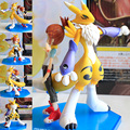 Anime Digital Monster Digimon Tamers renamon & makino ruki  PVC Action Figure Resin Collection Model Doll Toy Gifts Cosplay