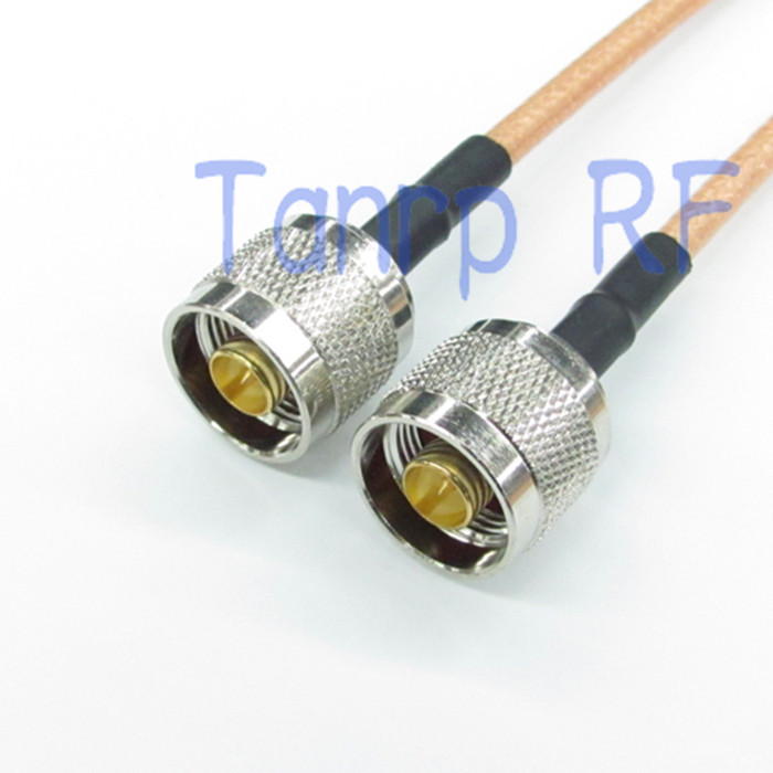 WiFi Antenna Extension Cable SMA Male Right Angle 90-Degree to SMA Female nut Pigtail RG142 50cm Low Loss