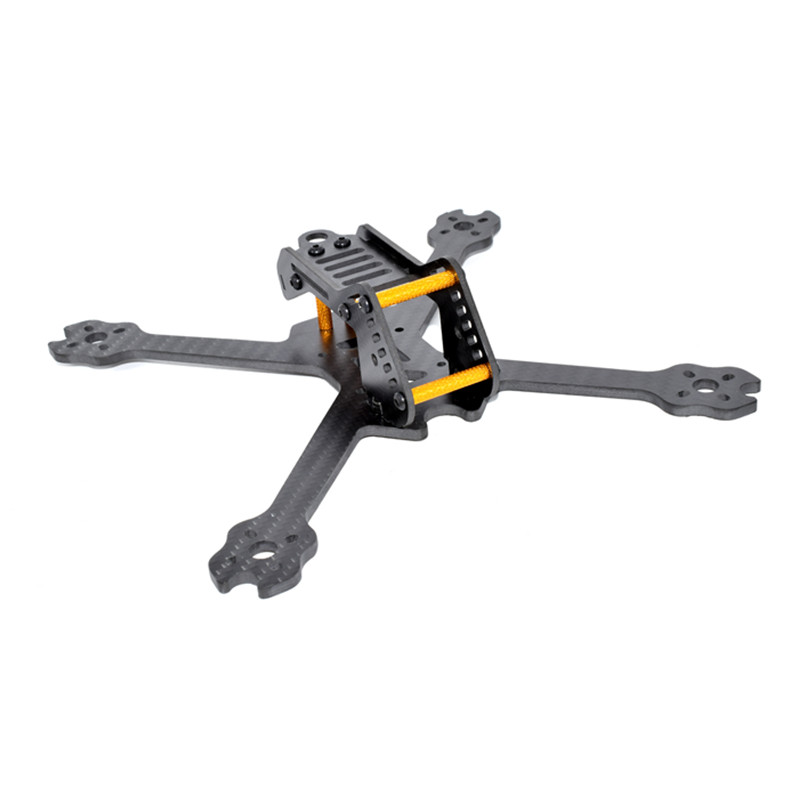 AuroraRC Armor220 220mm Carbon Fiber FPV Racing Drone X Frame Kit 4mm For FPV Racing Frame RC Drone Quadcopter DIY Parts Accs ormino fpv quadcopter frame kit tarot 300 mini drone frame rc racing frame quadcopter fpv drone glass carbon fiber frame