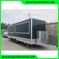 Закрытый пищевой грузовик концессионный трейлер фургон для еды