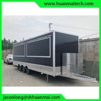 Enclosed Food Truck Concession Trailer Food Van