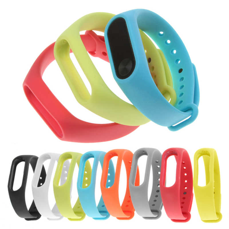 Durable Straps For Xiaomi Mi band 2 Strap Pulseira Miband 2 Band2 Replacement Silicone Wriststrap on Xiomi Mi2 Smart Bracelet