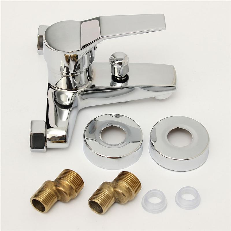 High Quality Professional Design Thermostatic Mixer Valve: POSEPOP Bathroom Faucet Brass Valve Bath Tub Mixer Tap