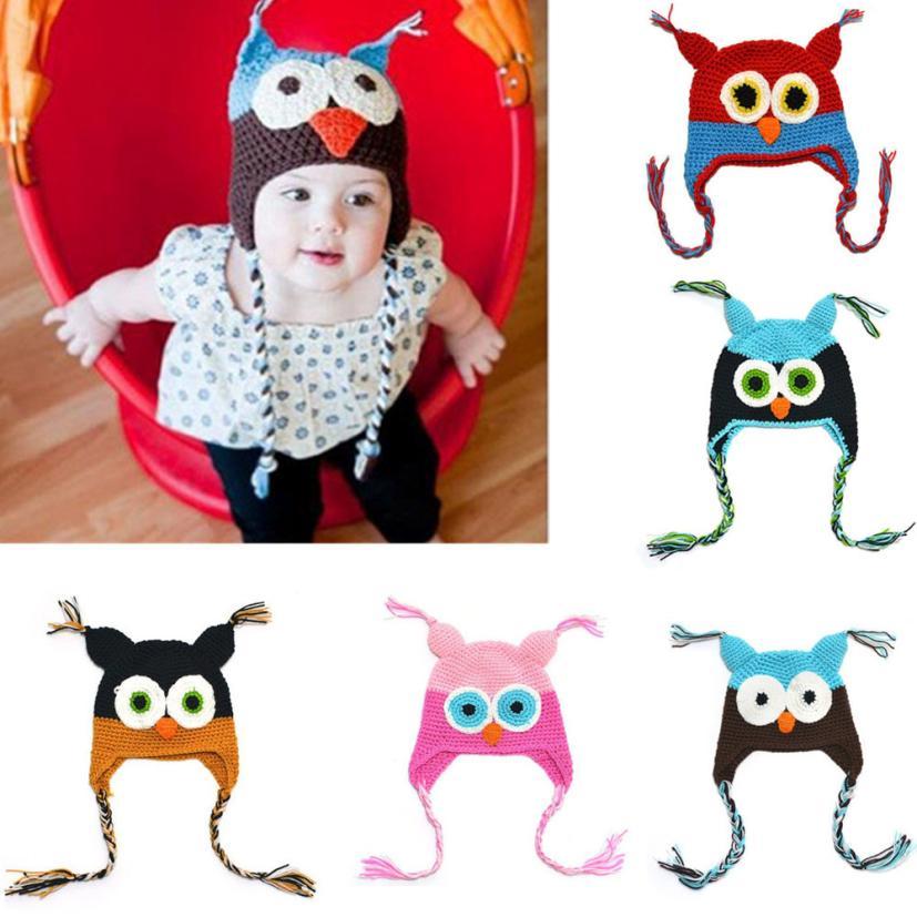 Compra crochet owl beanie y disfruta del envío gratuito en ...