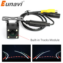Eunavi Auto Parking Assistance Intelligent Trajectory Tracks Rear View Camera Reverse Backup Camera With Variable Parking Line