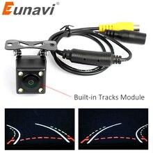 Eunavi De Assistência de Estacionamento Automático Inteligente Trajetória Faixas Linha Estacionamento Câmara de Visão Traseira Reversa de Backup Câmera Com Variável