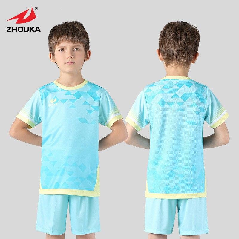 3042cd48b5a Custom Kids Soccer Jersey 2018 2019 Soccer Set Short Sleeve Uniforme  Futebol Survetement Foot Sports Form Football Uniform