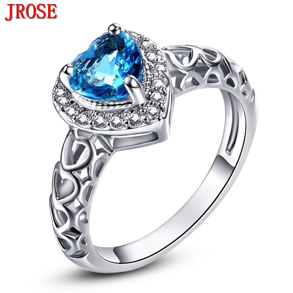 Jrose Wholesale Heart Of Ocean Engagement Blue White Cz. Breast Cancer Bracelet. Triangle Stud Earrings. Egyptian Pendant. Weird Wedding Rings. Trendy Engagement Rings. Adhd Bracelet. Skinny Diamond Bangle. Ohm Pendant