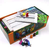 Dark Dixit juego de mesa cubierta 1 + 2 + 3 + 4 + 5 + 6 + 7 + 8 juego de cartas de madera conejito ruso y inglés reglas para dropshipping