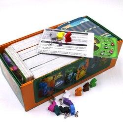 Obscure Dixit brettspiel deck 1 + 2 + 3 + 4 + 5 + 6 + 7 + 8 karten spiel holz bunny Russische und Englisch regeln für dropshipping