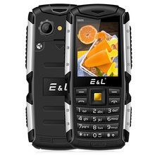Original EL S600 IP68 Quad Band Phone 2 4 Inch Dual SIM Card Waterproof Mobile Phone