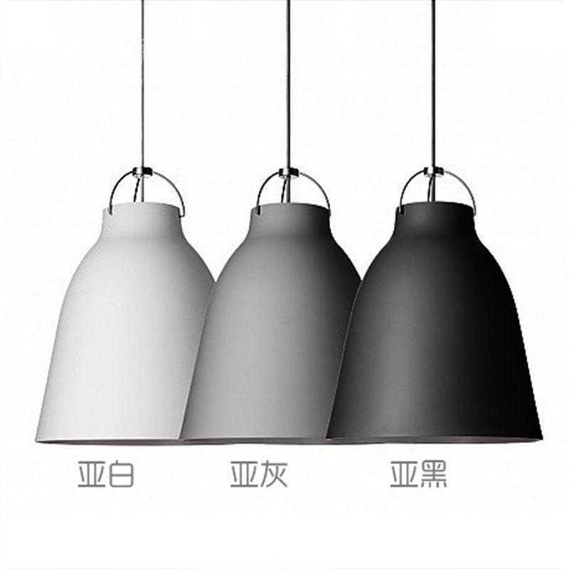 ᗔNordic Modern Caravaggio LED Hall Ceiling Lamp Droplight