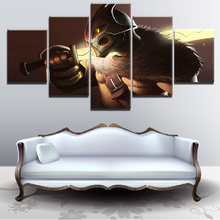 5 Pieces Paintings on Canvas Wall Art for Home Decorations Decor DOTA 2 Game For Living Room Modern