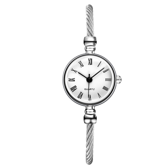 susenstone vansvar Casual Quartz Stainless Steel Band Bracelet Watch Analog Wris