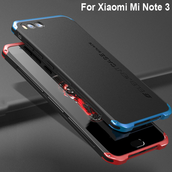 a727a9fa1d7 Fundas para Xaio mi Note 3 funda Tapa dura PC Metal parachoques negocios funda  teléfono 5